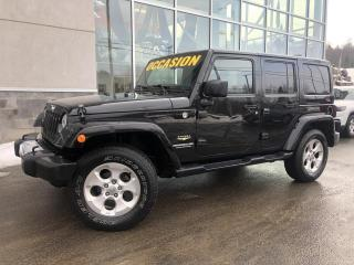 Used 2015 Jeep Wrangler Modèle Sahara 4 portes AC AUTOMATIQUE 10 for sale in Ste-Agathe-des-Monts, QC