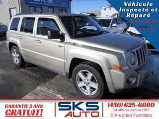 Used 2010 Jeep Patriot (GARANTIE 2 ANS) FINANCEMENT MAISON for sale in Ste-Rose, QC
