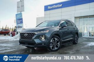 New 2020 Hyundai Santa Fe Ultimate: 8 TOUCH SCREEN NAV SYSTEM,BLUELINK,INFINITY PREMIUM AUDIO,LEATHER SEATING SURFACE for sale in Edmonton, AB