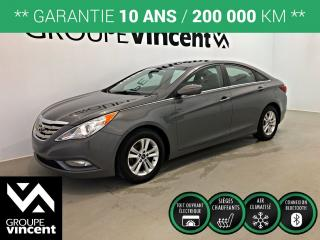 Used 2013 Hyundai Sonata GLS MAG TOIT OUVRANT ** GARANTIE 10 ANS ** Confortable et fiable! for sale in Shawinigan, QC