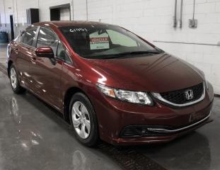 Used 2015 Honda Civic LX A/C Bluetooth Caméra de recul for sale in Île-Perrot, QC