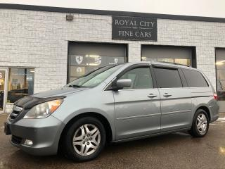 Used 2007 Honda Odyssey Touring AS-IS Leather, Sunroof, Power doors for sale in Guelph, ON