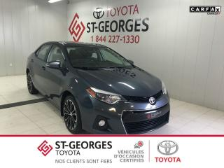 Used 2015 Toyota Corolla S toit ouvrant for sale in St-Georges, QC
