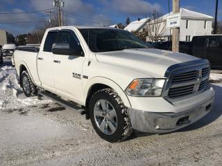 Used 2017 RAM 1500 Big Horn comme neuf for sale in Dolbeau-Mistassini, QC