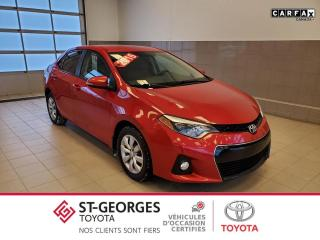 Used 2016 Toyota Corolla S for sale in St-Georges, QC