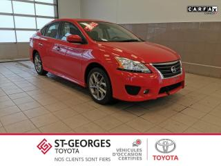 Used 2015 Nissan Sentra SR / TOIT / GPS for sale in St-Georges, QC