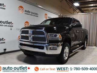 Used 2014 RAM 3500 Longhorn, 6.7L I6, 4wd, Crew cab, Short box, Navigation, Heated leather seats, Heated steering wheel, Backup camera, Sunroof, Bluetooth for sale in Edmonton, AB