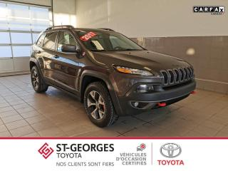 Used 2017 Jeep Cherokee AWD/TRAILHAWK for sale in St-Georges, QC