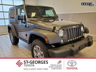 Used 2016 Jeep Wrangler Sport / 4x4 for sale in St-Georges, QC