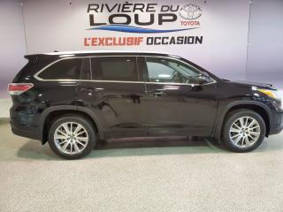 Used 2016 Toyota Highlander XLE for sale in Rivière-Du-Loup, QC