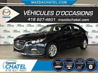Used 2016 Mazda MAZDA3 GS - TOIT OUVRANT - SIÈGES CHAUFFANTS - CAMÉRA for sale in Quebec, QC