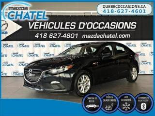Used 2015 Mazda MAZDA3 GS - SIÈGES CHAUFFANTS - CAMÉRA - CRUISE for sale in Quebec, QC