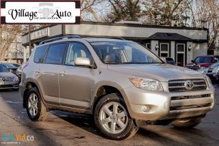 Used 2008 Toyota RAV4 LIMITED  for sale in Ancaster, ON