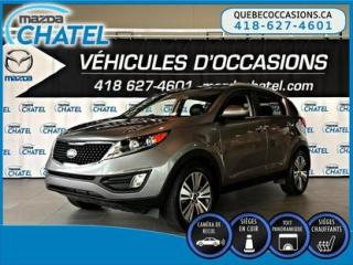 Used 2016 Kia Sportage EX AWD -CUIR -  TOIT PANORAMIQUE for sale in Quebec, QC