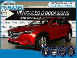 Used 2017 Mazda CX-9 GS-L AWD - CUIR - TOIT OUVRANT - SIÈGES CHAUFFANTS for sale in Quebec, QC