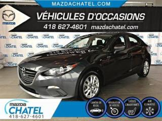 Used 2016 Mazda MAZDA3 GS - SIÈGES CHAUFFANTS - CAMÉRA - CRUISE for sale in Quebec, QC