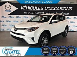 Used 2017 Toyota RAV4 LE FWD - SIÈGES CHAUFFANTS - CAMÉRA - BLUETOOTH for sale in Quebec, QC