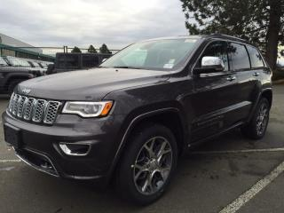 New 2020 Jeep Grand Cherokee Overland for sale in Richmond, BC