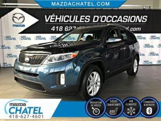 Used 2015 Kia Sorento LX AWD - SIÈGES CHAUFFANTS - CRUISE - BLUETOOTH for sale in Quebec, QC