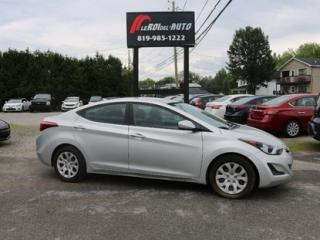 Used 2015 Hyundai Elantra GL for sale in Thurso, QC