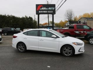Used 2017 Hyundai Elantra GL for sale in Thurso, QC