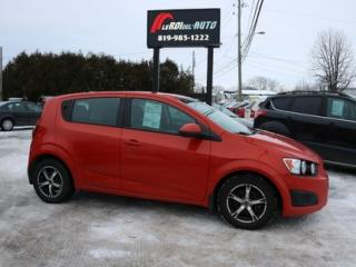 Used 2012 Chevrolet Sonic LS for sale in Thurso, QC