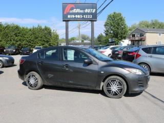 Used 2010 Mazda MAZDA3 GX for sale in Thurso, QC