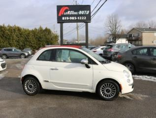 Used 2012 Fiat 500 Lounge for sale in Thurso, QC