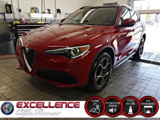 Used 2018 Alfa Romeo Stelvio SPORT AWD*CUIR/TOIT PANO/NAV/HARMON KARD for sale in Laval, QC