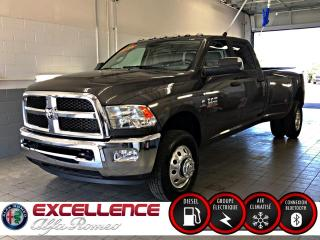Used 2018 RAM 3500 SLT CREW DIESEL ROUE DOUBLE 4X4 for sale in Laval, QC