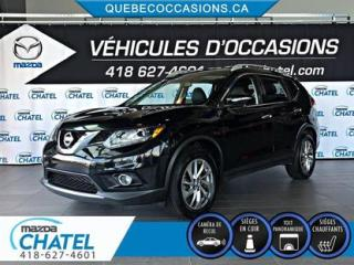Used 2014 Nissan Rogue SL AWD - TOIT PANO - CUIR - CAMÉRA for sale in Quebec, QC