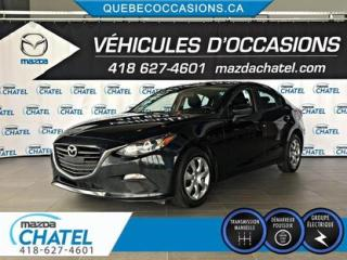 Used 2016 Mazda MAZDA3 G - MANUELLE - BLUETOOTH - for sale in Quebec, QC