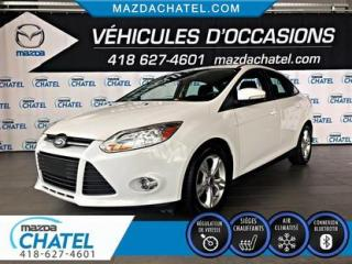 Used 2013 Ford Focus SE - A/C - CRUISE - BLUETOOTH for sale in Quebec, QC