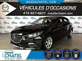 Used 2015 Mazda MAZDA3 Sport GX - BLUETOOTH - A/C - for sale in Quebec, QC