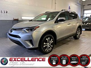 Used 2017 Toyota RAV4 LE AWD*MAGS/ECRAN/BANC CHAUFFANT/CAMERA for sale in Laval, QC