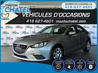 Used 2015 Mazda MAZDA3 GX - AUTO - A/C - BLUETOOTH for sale in Quebec, QC