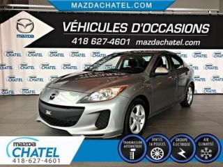 Used 2012 Mazda MAZDA3 GX - AUTO - A/C - MAGS for sale in Quebec, QC