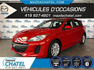 Used 2013 Mazda MAZDA3 Sport GS-SKY - TOIT OUVRANT - SIÈGES CHAUFFANTS - CRUISE for sale in Quebec, QC