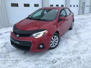 Used 2015 Toyota Corolla S BAS KILOS GARANTIE PROLONGÉE for sale in Alma, QC