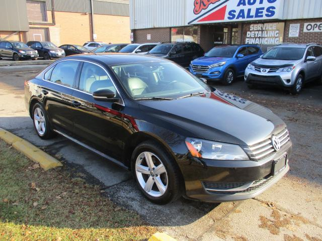 2015 Volkswagen Passat Comfortline ~ LEATHER ~ NAV. ~ REAR CAM.