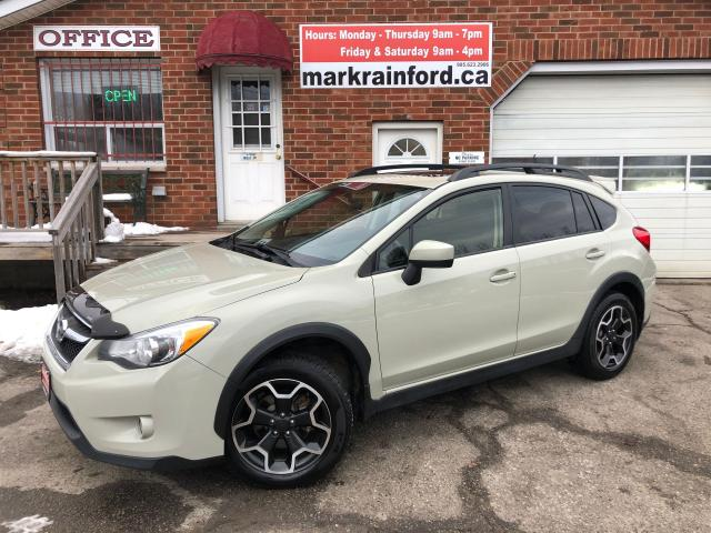 2015 Subaru XV Crosstrek 2.0i Touring AWD Bluetooth Back Up Cam Sunroof Htd