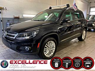 Used 2016 Volkswagen Tiguan COMFORTLINE 4X4*TOIT/MAGS/BANC CHAUFFANT for sale in Laval, QC