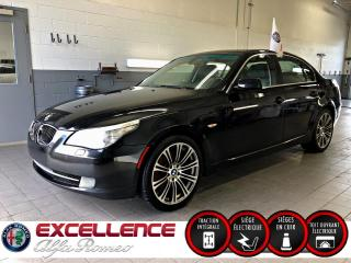 Used 2008 BMW 5 Series 535XI AWD *CUIR/TOIT/MAGS* for sale in Laval, QC