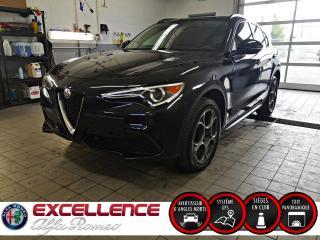 Used 2018 Alfa Romeo Stelvio SPORT AWD*CUIR/TOIT PANO/NAV/MAGS/SEN for sale in Laval, QC
