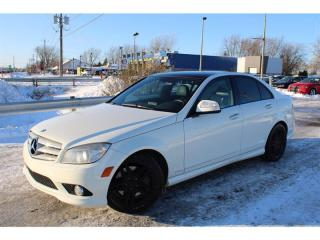Used 2009 Mercedes-Benz C-Class C350 3.5L AMG 4MATIC NAVI BLUETOOTH!!! for sale in Ste-Catherine, QC