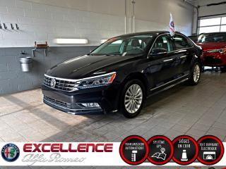 Used 2017 Volkswagen Passat 1.8T COMFORTLINE*CUIR/TOIT/NAV/MAGS* for sale in Laval, QC