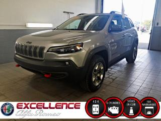 Used 2019 Jeep Cherokee TRAILHAWK ELITE 4X4 *CUIR/TOIT/CAMER for sale in Laval, QC