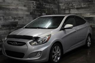 Used 2012 Hyundai Accent AUTOMATIQUE, TOIT OUVRANT, SIÈGE CHAUFFANT, BLUETO for sale in St-Sulpice, QC