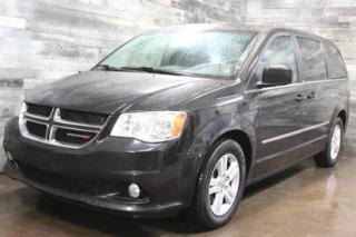 Used 2013 Dodge Grand Caravan CREW - STOW N'GO, SIÈGE EN CUIR ET CHAUFFANT, NAVI for sale in St-Sulpice, QC
