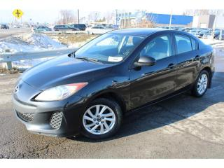 Used 2013 Mazda MAZDA3 MAN. GS-SKY A/C CRUISE MAGS!!! for sale in Ste-Catherine, QC